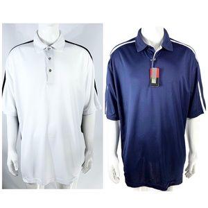 2 Grand Slam Golf Big &Tall Polo Shirt Size 2XLT